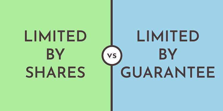 Company limited by shares vs limited by guarantee