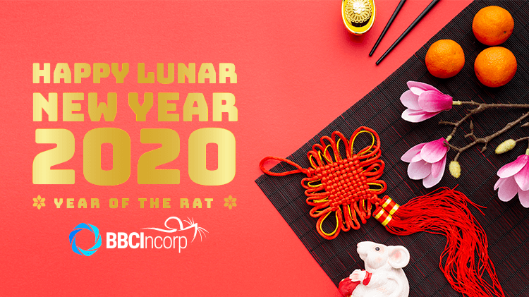 Lunar New Year 2020 Holiday Notice