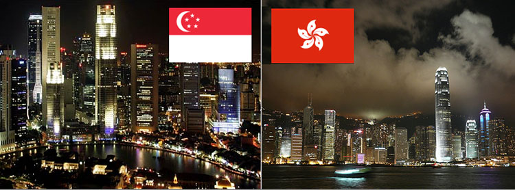 Singapore and Hong Kong for Doing Business