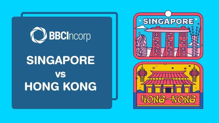 singapore and hong kong sticker