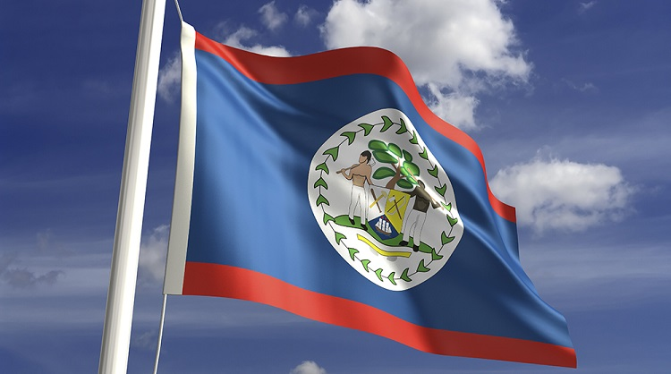 belize national flag