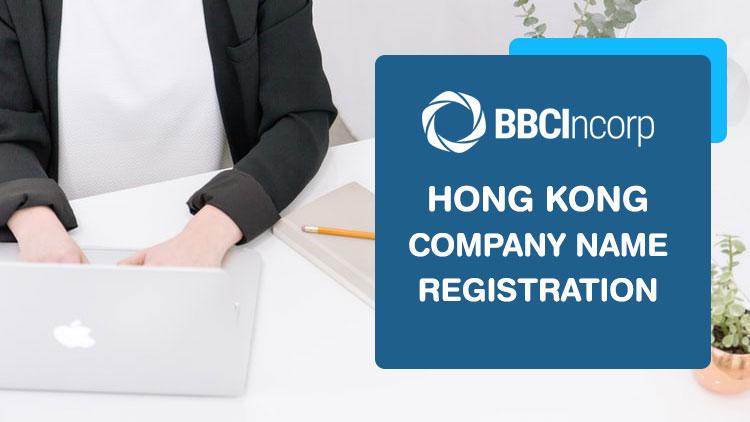 company name requirements in Hong Kong