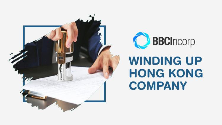 winding up hong kong company