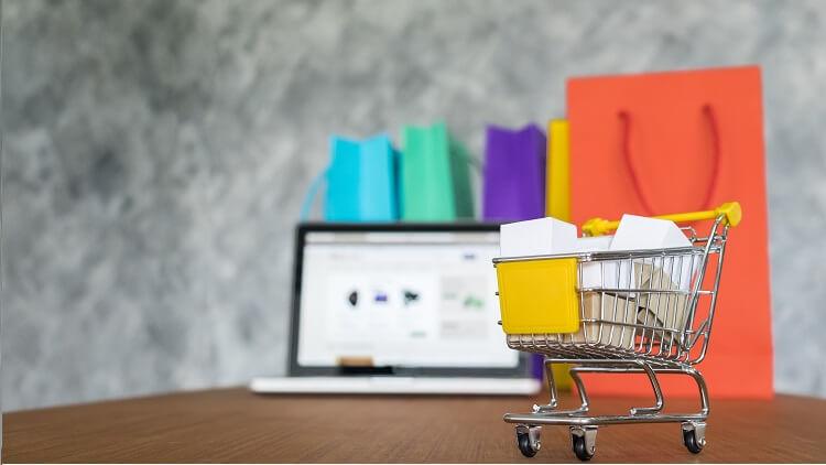 online shopping model