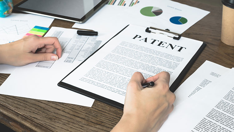 patent papers