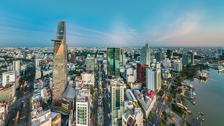 Vietnam buildings