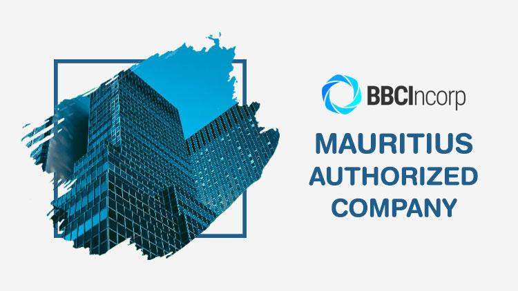 mauritius authorized company