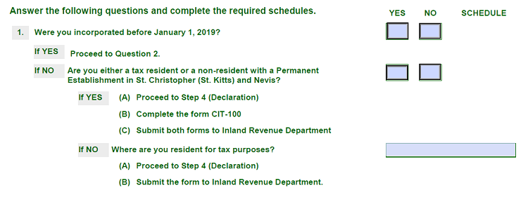 a part of STR Form - new filing requirement