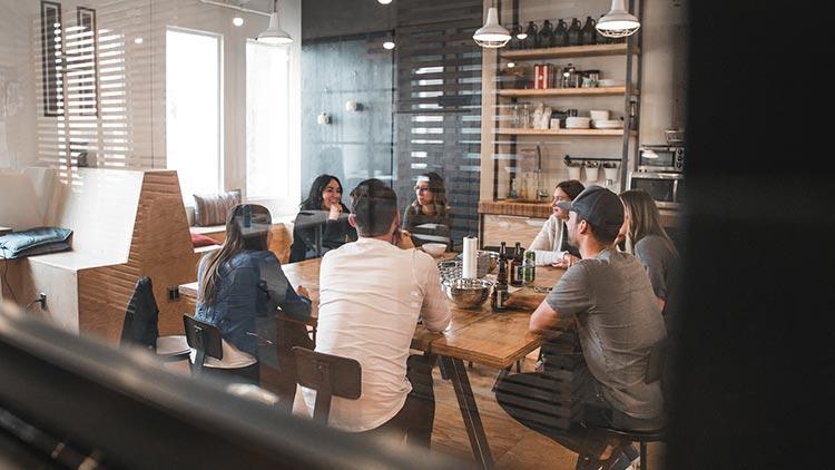 people inside a meeting room